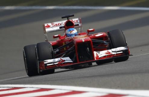 Формула-1. ГП Китая. Уверенная победа Алонсо, прорыв Феттеля