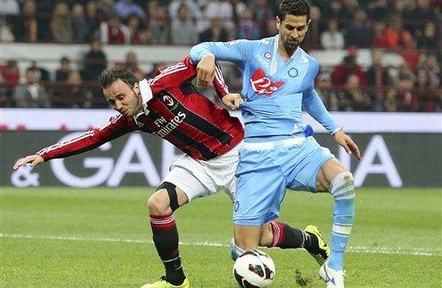 Наполи сохраняет прежний отрыв от Милана