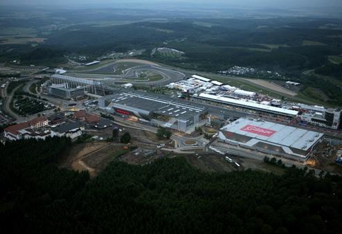 Формула-1. Нюрбургринг: контракт только на текущий сезон
