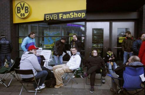 Паника в Дортмунде: билеты на матч с Реалом распроданы
