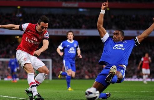 Эвертон выстоял против Арсенала