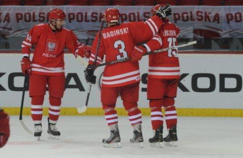 ЧМ. Дивизион 1В. Важнейшая победа Польши