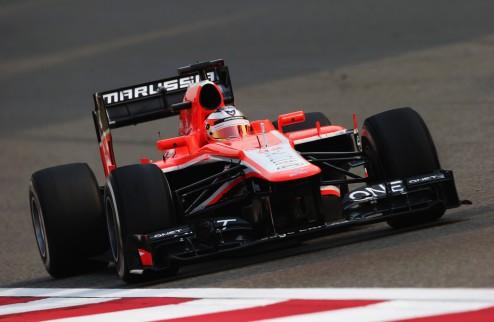 Формула-1. Бьянки: Высокая температура в Бахрейне усложняет жизнь гонщикам