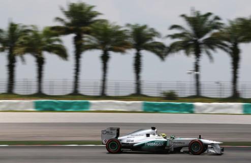 Формула-1. Гран-при Бахрейна. Росберг на поуле, Феттель впереди Алонсо