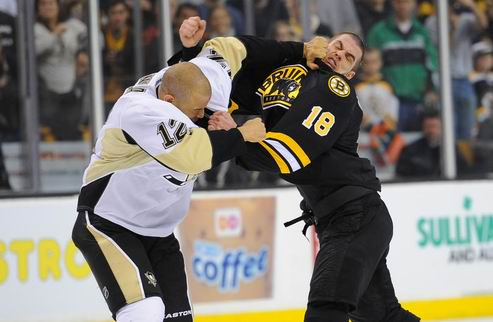 НХЛ. Питтсбург вновь обыграл Бостон