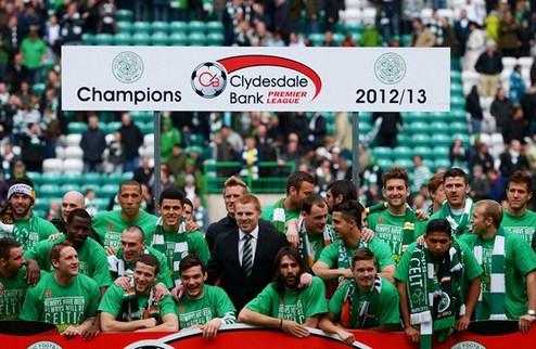 Селтик снова выиграл чемпионат Шотландии
