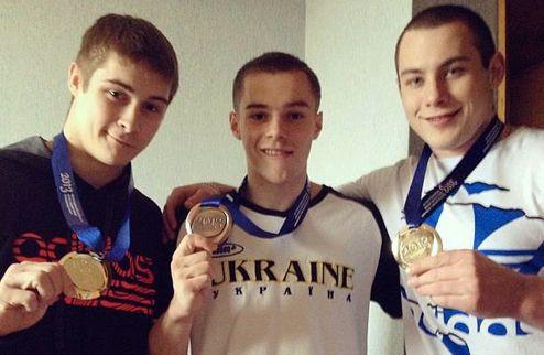 Спортивная гимнастика. Украина — третья в общекомандном зачете ЧЕ-2013