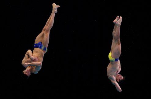 Прыжки в воду. Украинцы из Эдинбурга привезли три награды
