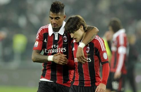 Милан сокращает убытки в десять раз