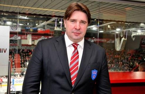 Касатонов назначен генеральным менеджером олимпийской сборной России