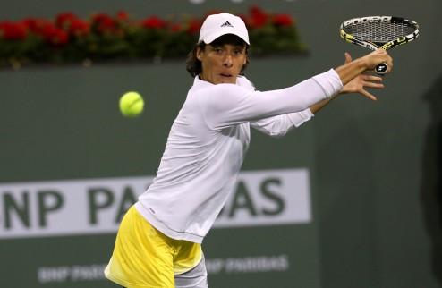 Марракеш (WTA). Непростая победа Скьявоне, вылет Гантуховой