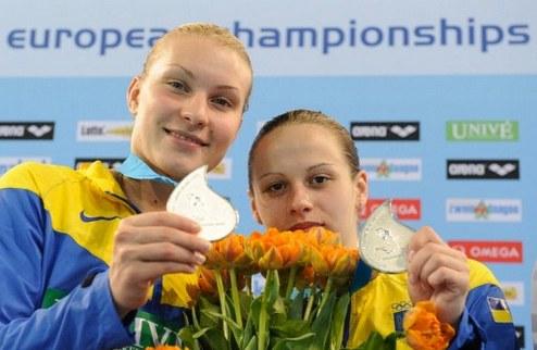 Прыжки в воду. Украинцы — первые, украинки — вторые