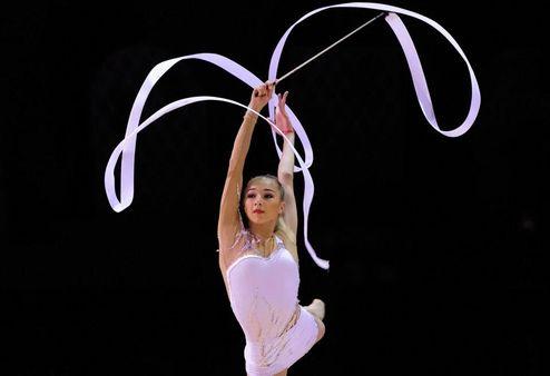 Художественная гимнастика. Мазур стала второй в Италии