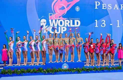 Художественная гимнастика. Украинская бронза на этапе Кубка мира