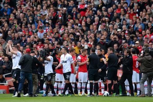 Арсенал — МЮ: боевая ничья