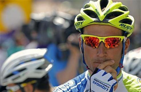 Велоспорт. Бассо снимается с Джиро