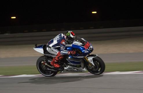 MotoGP. Гран-при Испании. Лоренсо выигрывает вторую практику