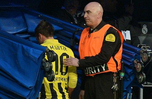 Гетце выбыл до конца сезона в Бундеслиге