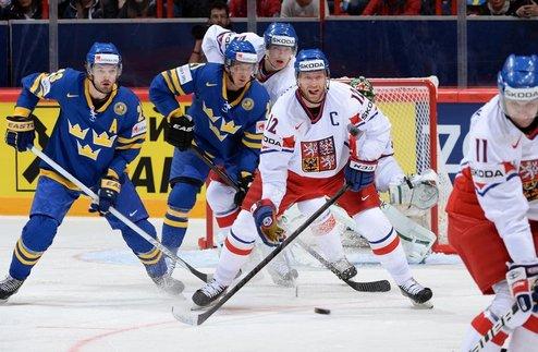 ЧМ. Швеция вырывает победу у Чехии