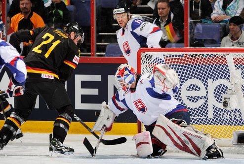 ЧМ. Словакия в волевом стиле обыгрывает Германию