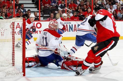 НХЛ. Монреаль: Прайс в серии с Оттавой больше не сыграет