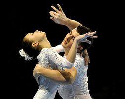 Спортивная акробатика. Украинцы повели борьбу за медали в Болгарии