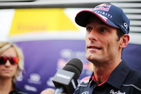 """Формула-1. Уэббер ждет """"свои"""" гонки"""