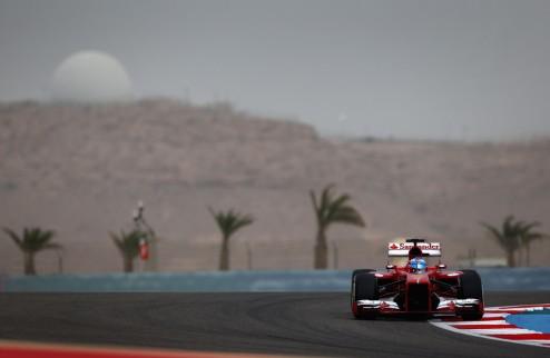 Формула-1. Гран-при Испании. Алонсо выигрывает первую практику