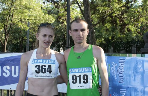 Легкая атлетика. Русс и Вернигор выиграли чемпионат Украины по полумарафону