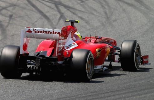 Формула-1. Масса и Гутьеррес теряют три позиции на старте Гран-при Испании