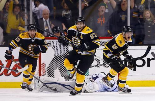 НХЛ. Невероятный камбэк Бостона, уверенная победа Рейнджерс