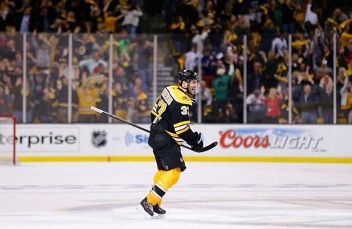 НХЛ. Бержерон — первая звезда дня