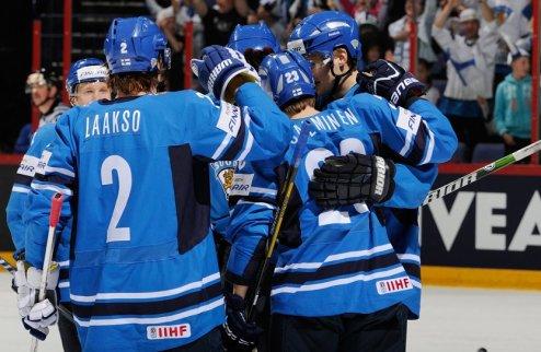 ЧМ. Финляндия выигрывает группу