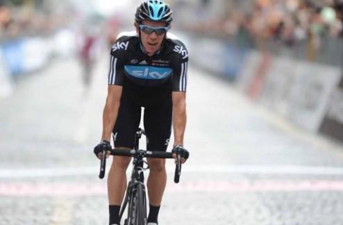Джиро д'Италия. Уран взял первый горный финиш