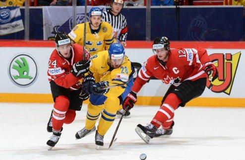 ЧМ. Россия сыграет с США, Канада проэкзаменует Швецию