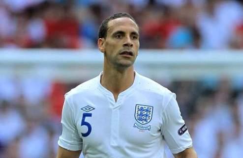 Фердинанд завершает карьеру в сборной