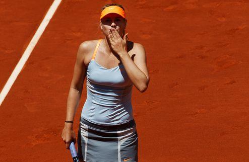 Рим (WTA). Шарапова, Серена и Азаренко идут дальше