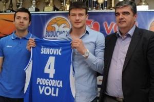 Официально: Шехович подписал контракт с Будучностью