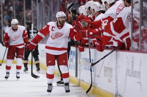 НХЛ. Зеттерберг — первая звезда дня