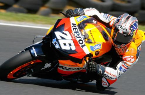 MotoGP. ����-��� �������. ������� ��������� � �����