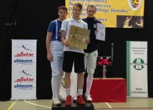 Фехтование. Серебро и золото украинской молодежи в Гливице