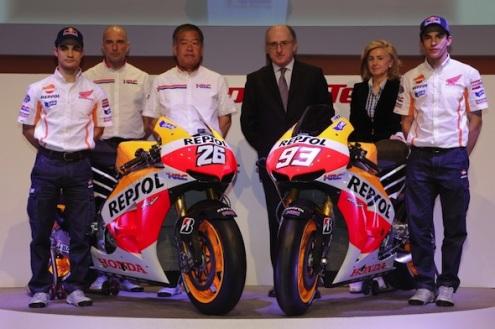 MotoGP. Пилоты впечатлены темпом Honda