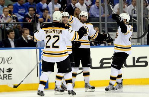 НХЛ. Бостон вновь сильнее Рейнджерс, победа Сан-Хосе