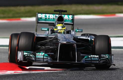 Формула-1. Гран-при Монако. Росберг выигрывает первую практику