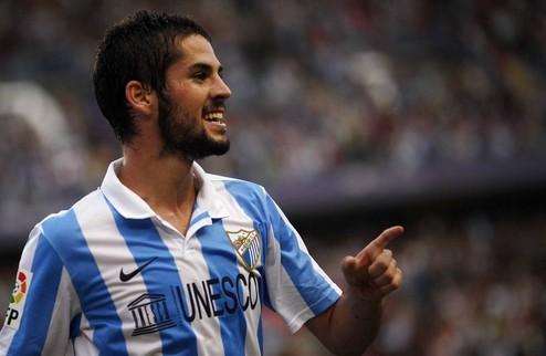 Малага подтверждает интерес Реала к Иско