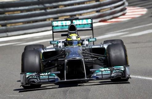 Формула-1. Гран-при Монако. Росберг задает темп