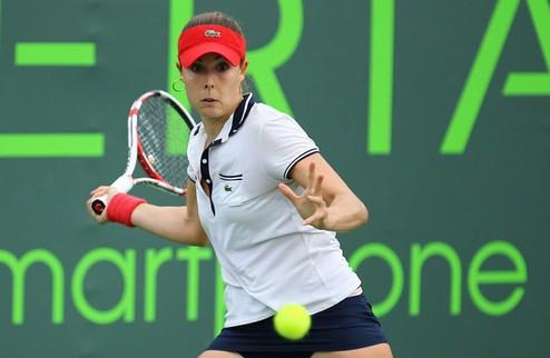 Страсбург (WTA). Домашняя победа Корне