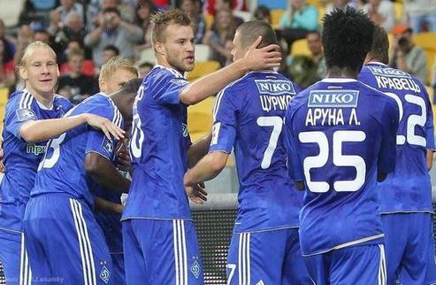 Динамо завершило сезон победой