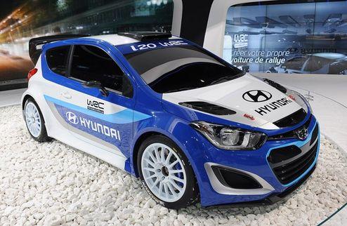 WRC. В Hyundai протестировали новый автомобиль