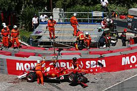 Формула-1. Масса и авария в Монако: во всем виновата подвеска